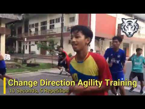 Change Direction Agility Training for Football Player | Unsil United