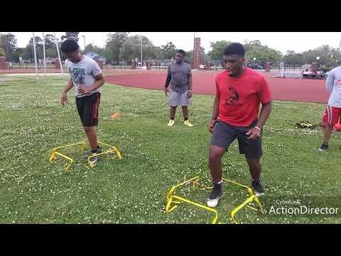T'Lae – Football Speed & Agility Training!