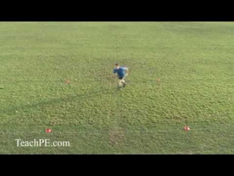 Basic Agility Soccer / Football Drills – The Bow Tie Drill