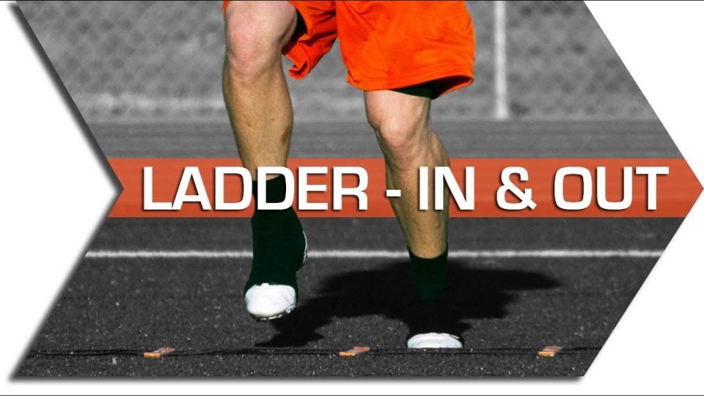 IN & OUT – AGILITY LADDER – FOOTWORK, QUICKNESS & SPEED TRAINING DRILL