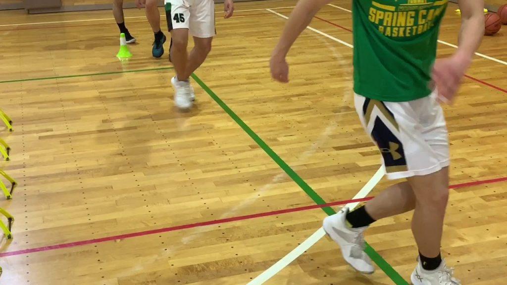 バスケットボール Basketball Work Out 14  Agility 3 アジリティ 山ちゃんズ