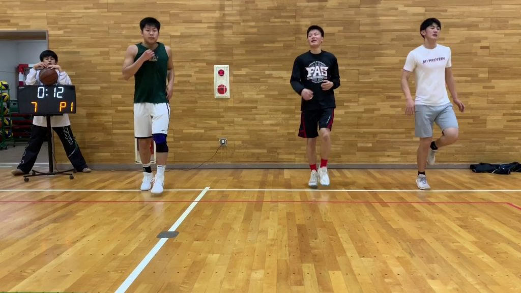 バスケットボール Basketball Work Out 6  Agility アジリティ基礎編  山ちゃんズ