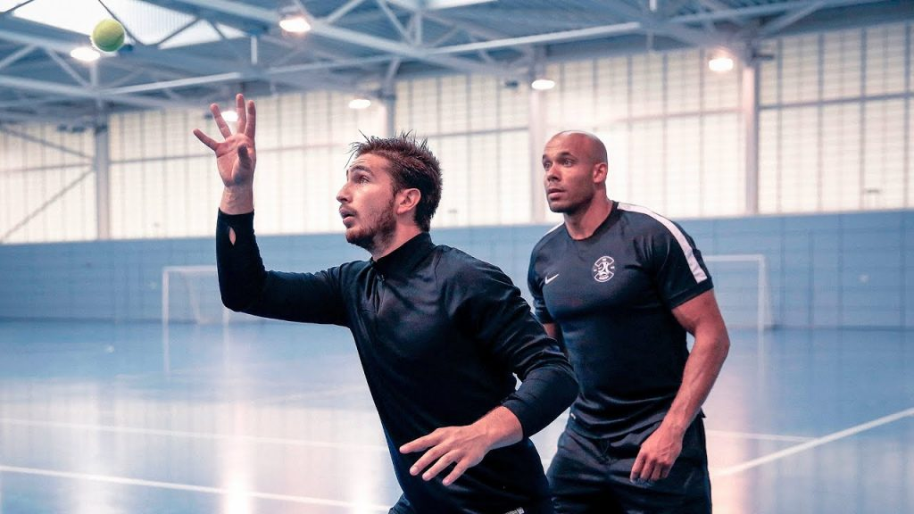 Nike Academy: Pre-season – Reaction Wall [Agility]