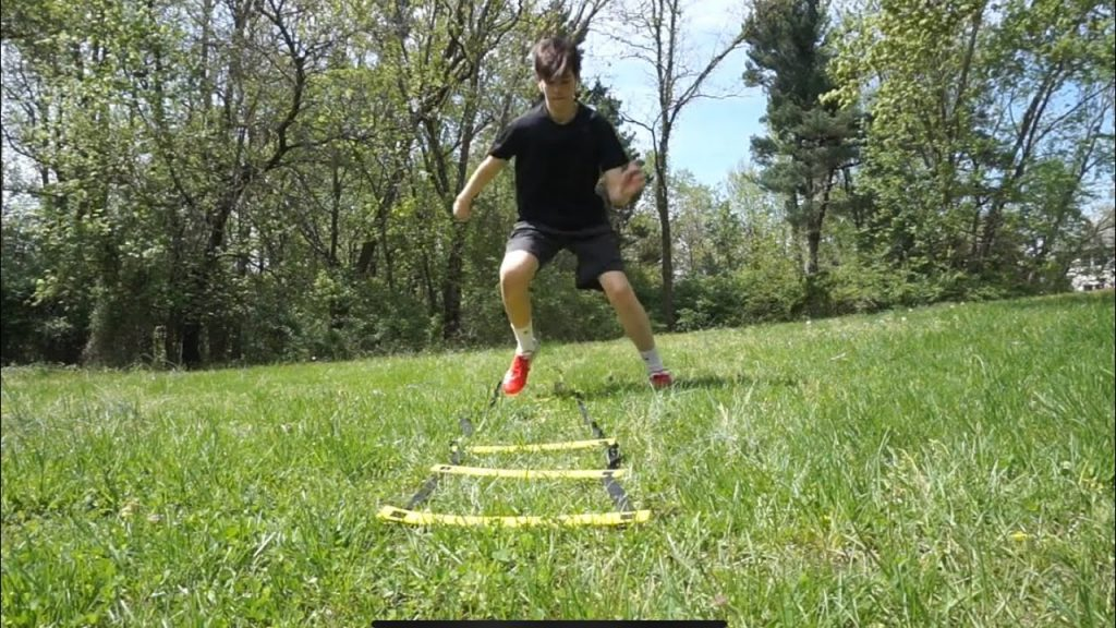 Respect The Grind :  Football Drills Using a Agility Ladder and Cones