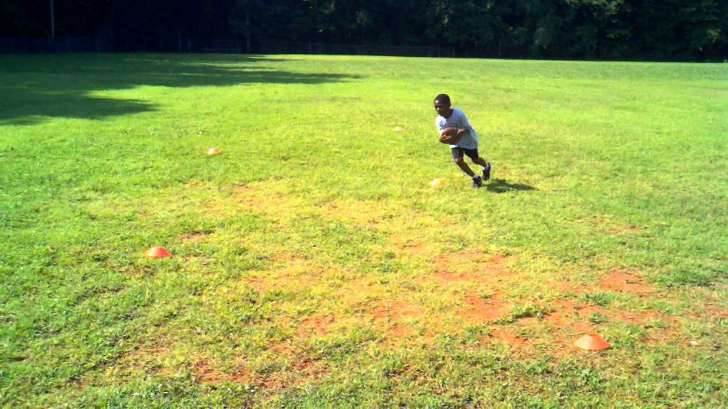 Youth Football – Agility Cone Drills