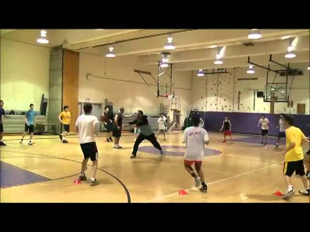 Basketball Agility and Footwork Clinic Part 1
