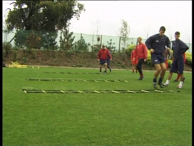 Arsenal FC – SAQ training with Fast Foot Ladder Part 2 (Speed, Agility, Quickness (SAQ®)