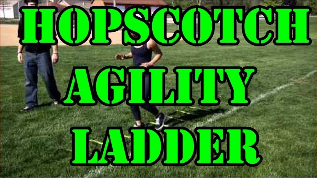 Hopscotch Agility Ladder Drill