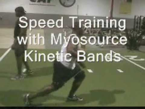 Football  Speed and agility training with Resistance Kinetic Bands | Part 7