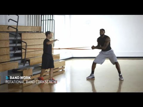 LeBron James – 1 hour workout (uncut)