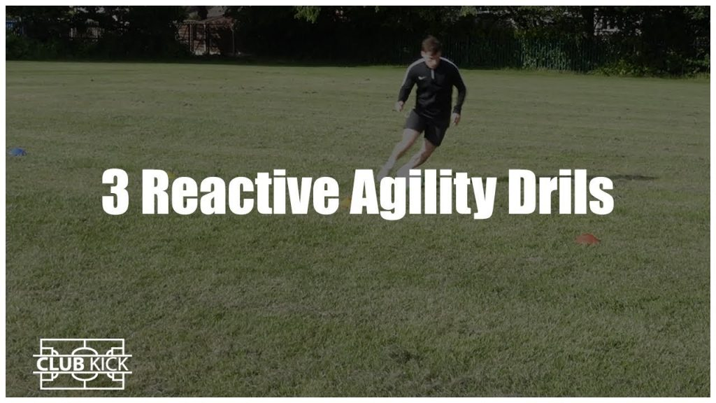 Three Essential Reactive Agility Drills for Football/Soccer Players