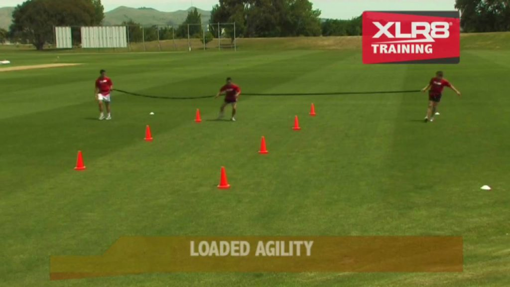 XLR8 Loaded Agility Drills with Overspeed Trainers