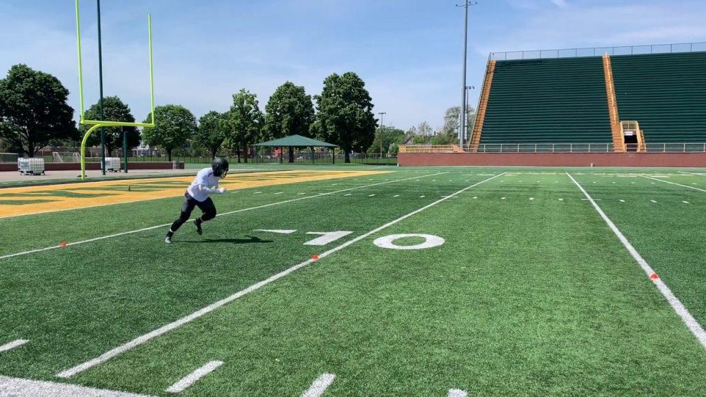 Xenith Football Summer Training — Pro Agility Shuttle