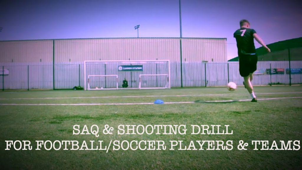Shooting & Agility Football/Soccer Drill |TOFA #12