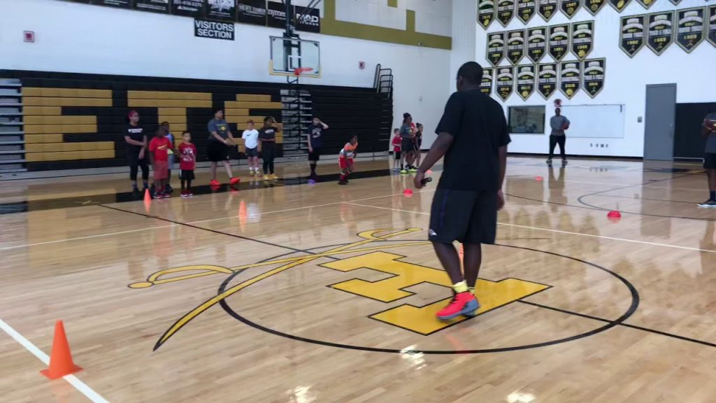 Mental Edge Athletics Basketball camp day 2 2019 speed and agility