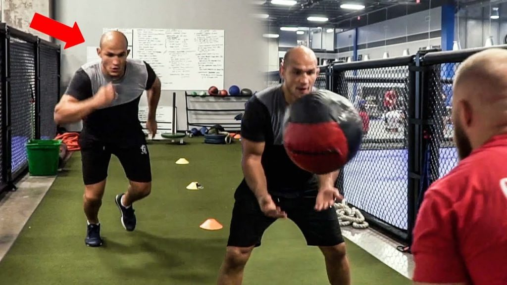 MMA Workout for Agility, Explosive Power and Cognitive conditioning | Junior Dos Santos