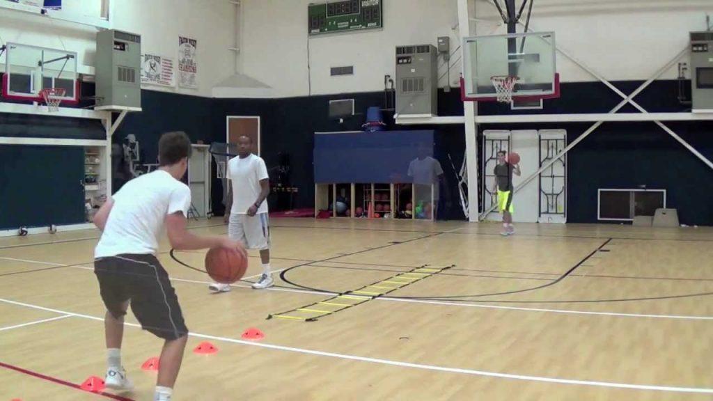 Basketball Drills – Advanced ball handling / footwork