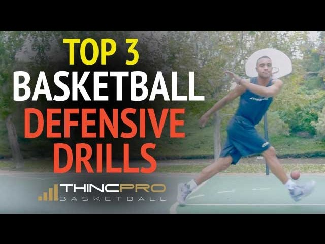 Top 3 BASKETBALL DEFENSIVE DRILLS – How to Improve Quickness for Basketball Defense