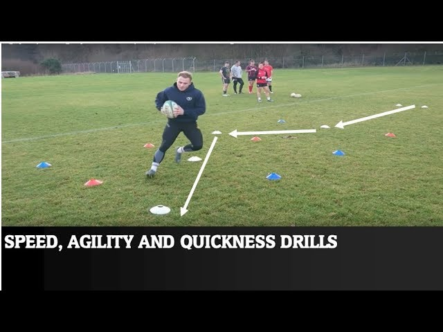 Rugby – Speed Agility Quickness (SAQ) drills and training – Volume 1 with Luke Brimble