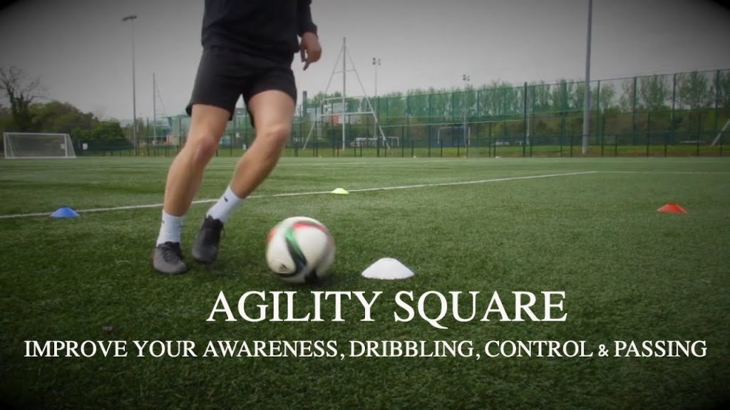 Agility Square for Football/Soccer Players 2019 – improve your awareness & close control |TOFA #15