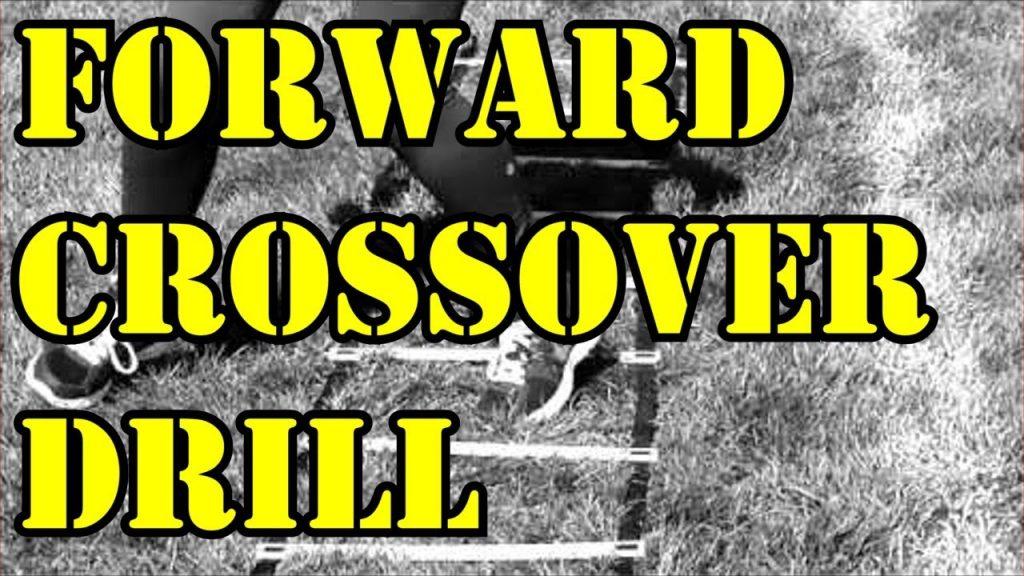 Forward Crossover Karaoke Speed Agility Ladder