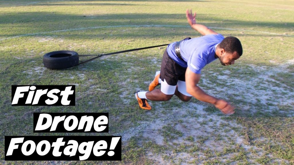 TIRE SPRINTS & AGILITY LADDER WORKOUT | OFFSEASON EP. 5