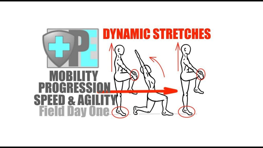 Speed and Agility – Mobility – Dynamic Stretches – Field Day One