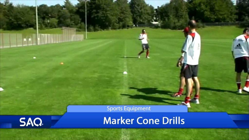 SAQ® Marker Cone Drills with Bayern Munich Footballers (Speed, Agility, Quickness (SAQ®)