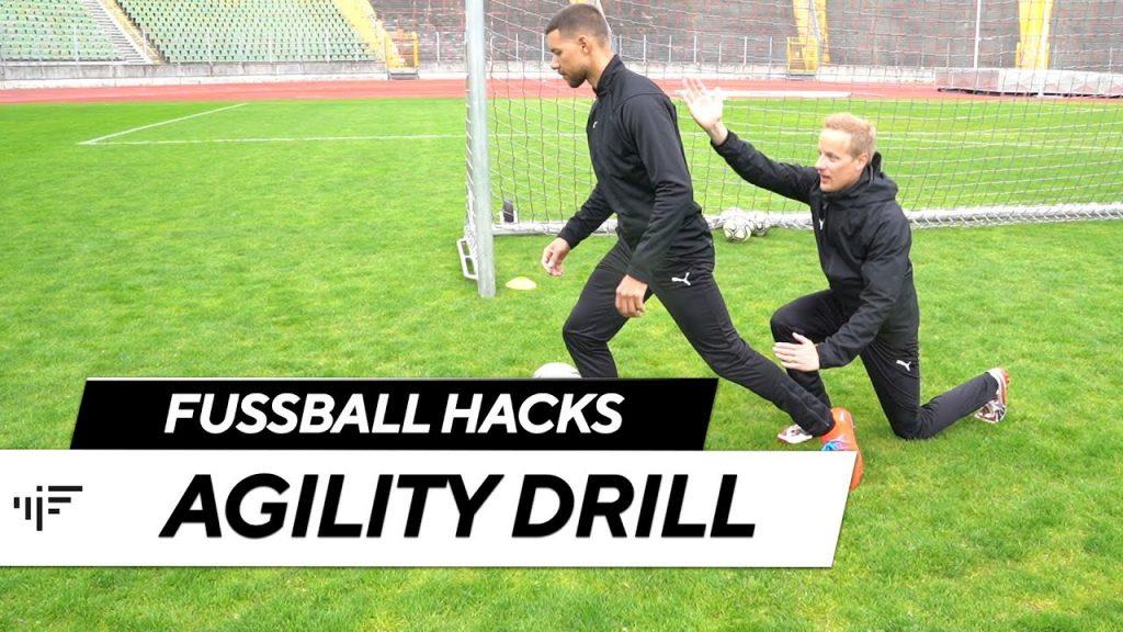 Agility Drill: Schnelle Richtungswechsel richtig trainieren | Fußball Hacks | iM Football