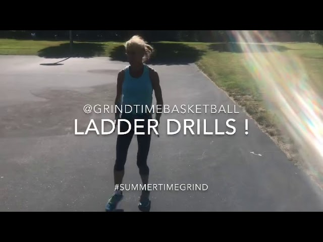 Increase Your Vertical Jump & Quickness- Agility Ladder Drills for Basketball @GrindTimeBasketball
