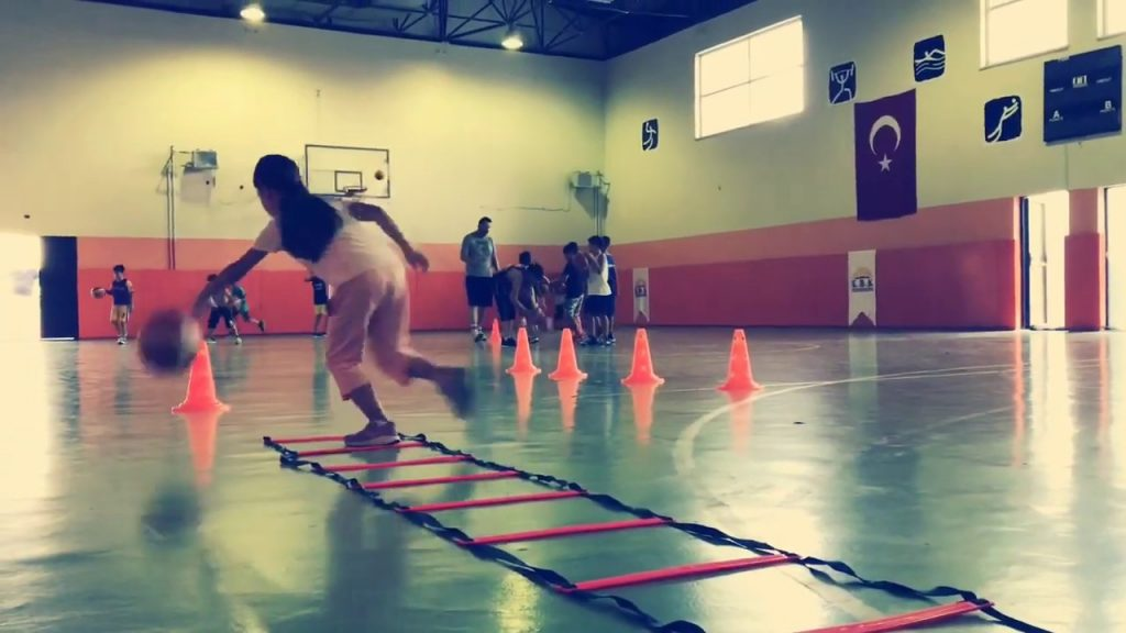 BEST Basketball Fundamental, Tennis Ball and Agility Training  For Kids