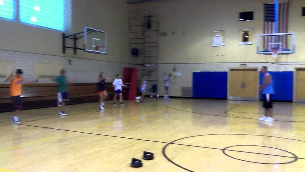 Best Basketball Skills & Drills – Speed & Agility – Explosive Jump Roping on Right Leg