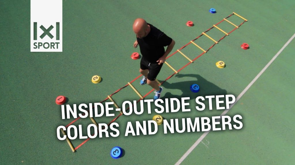 Visual Coordination Training – New and innovative agility ladder drill