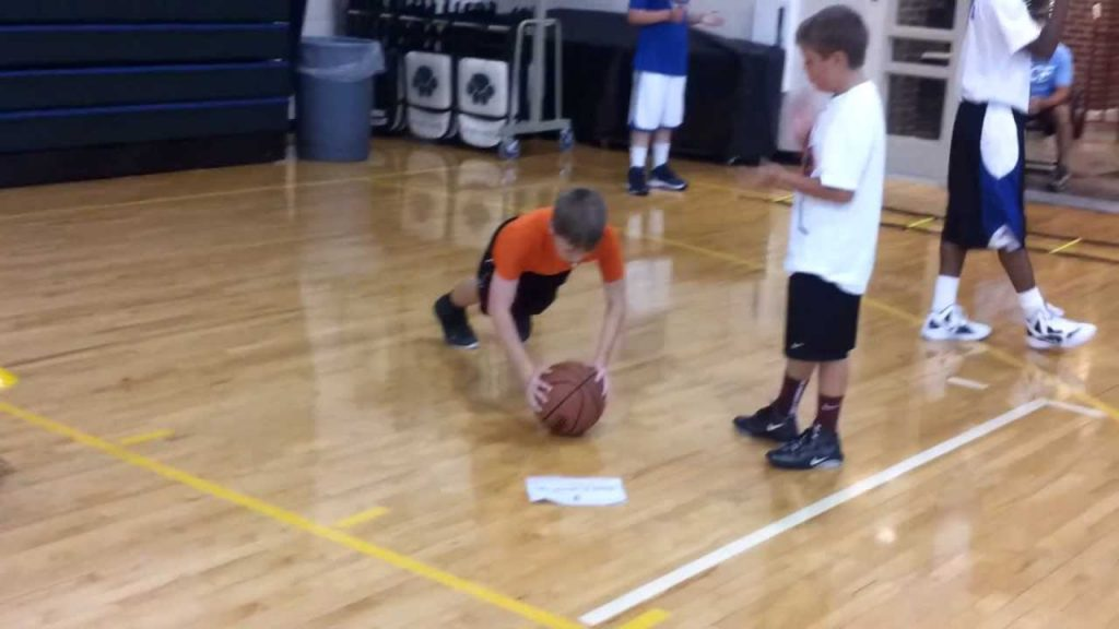 Elite Hoops Basketball-Speed and Agility Skill Station at NIKE Camp Little Rock