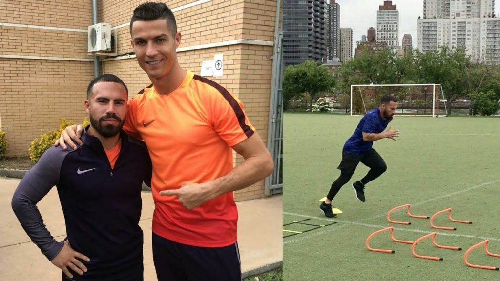 Cristiano Ronaldo Trainer Luis Badillo World Fastest Feet speed accuracy and agility Gym Workout….