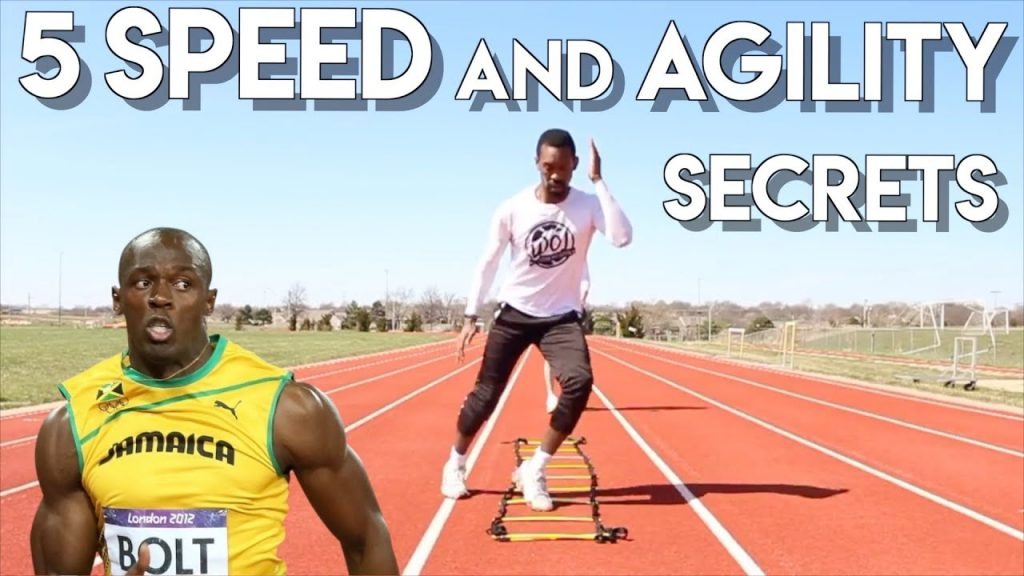 THE ONLY 5 SPEED AND AGILITY DRILLS YOU NEED – BEING SLOW WILL HOLD YOU BACK