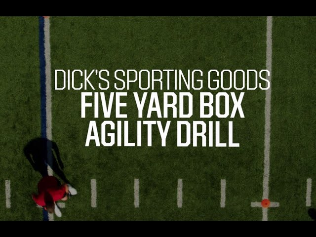 Football Drills: Five-Yard Agility Box