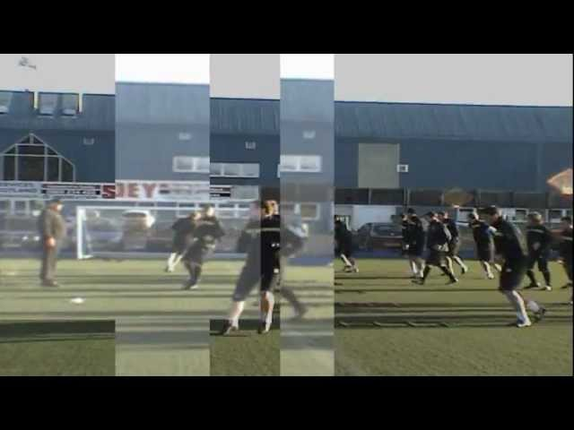 St Johnstone FC Football Training With SAQ (Speed, Agility, Quickness (SAQ®)