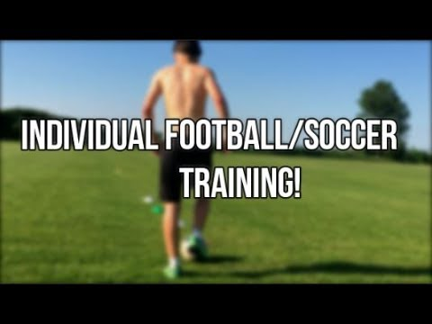 Individual football training • Speed, Agility and Endurance!