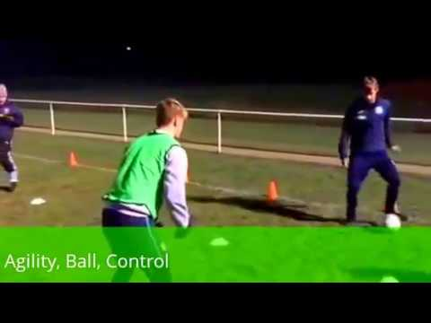 Football Warm UpsTV – Agility with Ball Control – As seen on http://gocoachit.com/ ( Warm Ups