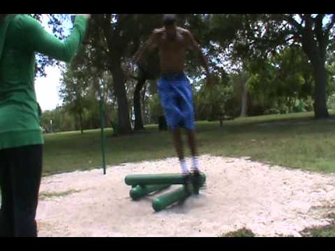 Dre Baldwin: Lateral Direction Change Jumps | Quickness Agility Stamina Conditioning NBA
