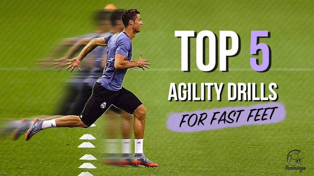 Top 5 Agility Drills For Fast Feet | Every Football Player Should Know
