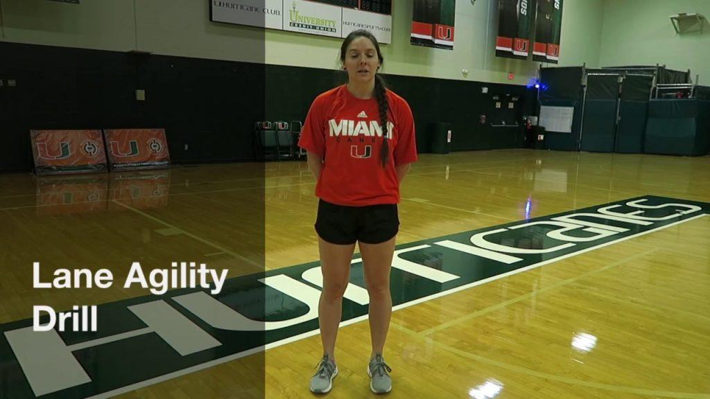 Lane Agility Drill