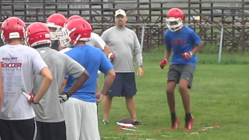 Washington football: Agility drill