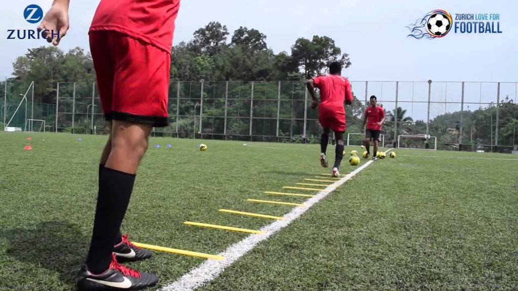 Zurich Love for Football: Tutorial #1 —  Agility Drills