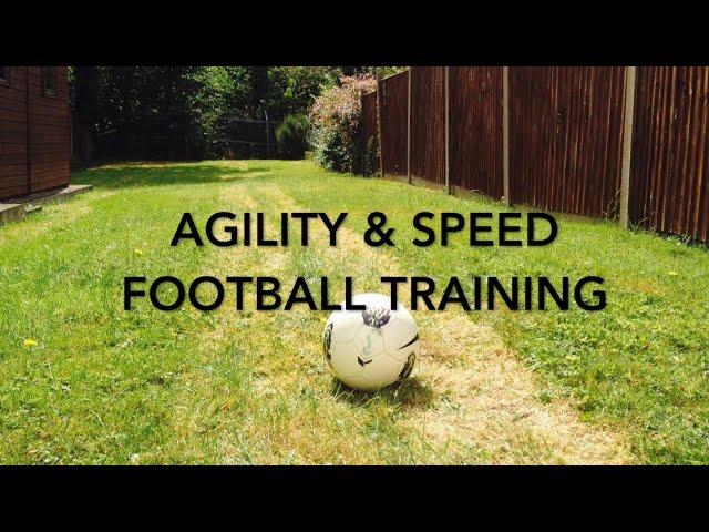 Speed and Agility Football Training