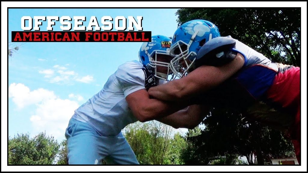 OFFSEASON: Lineman Drills, Agility & eine kleine Story! | American Football Vlog (Deutsch/German)