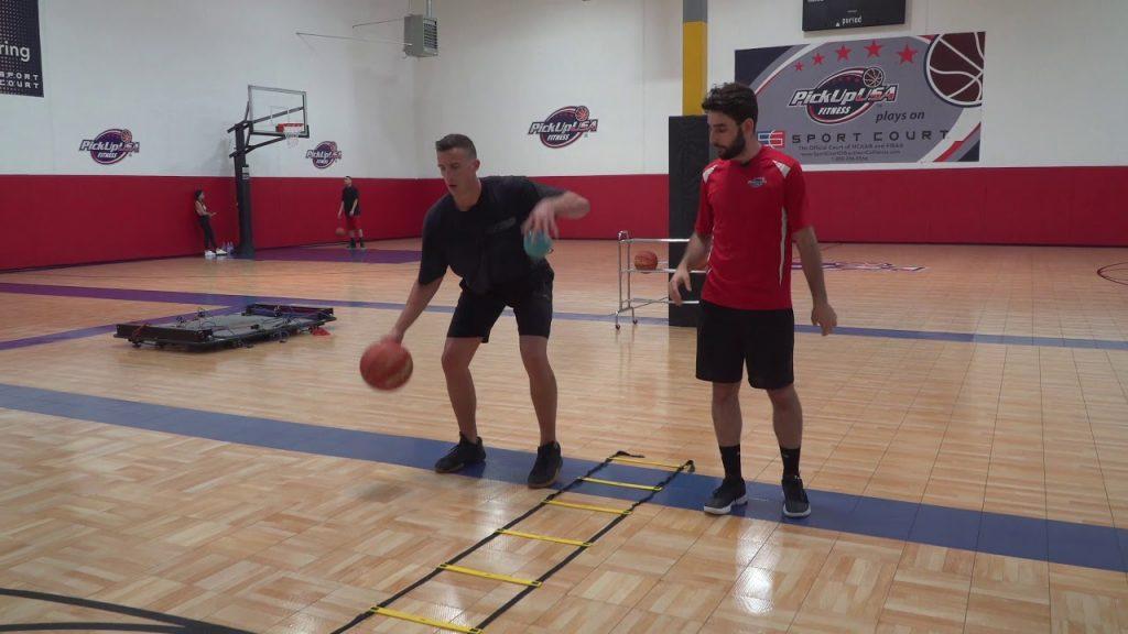 Basketball Skills Training At PickUp USA Fitness: Ball Handling + Agility Ladder