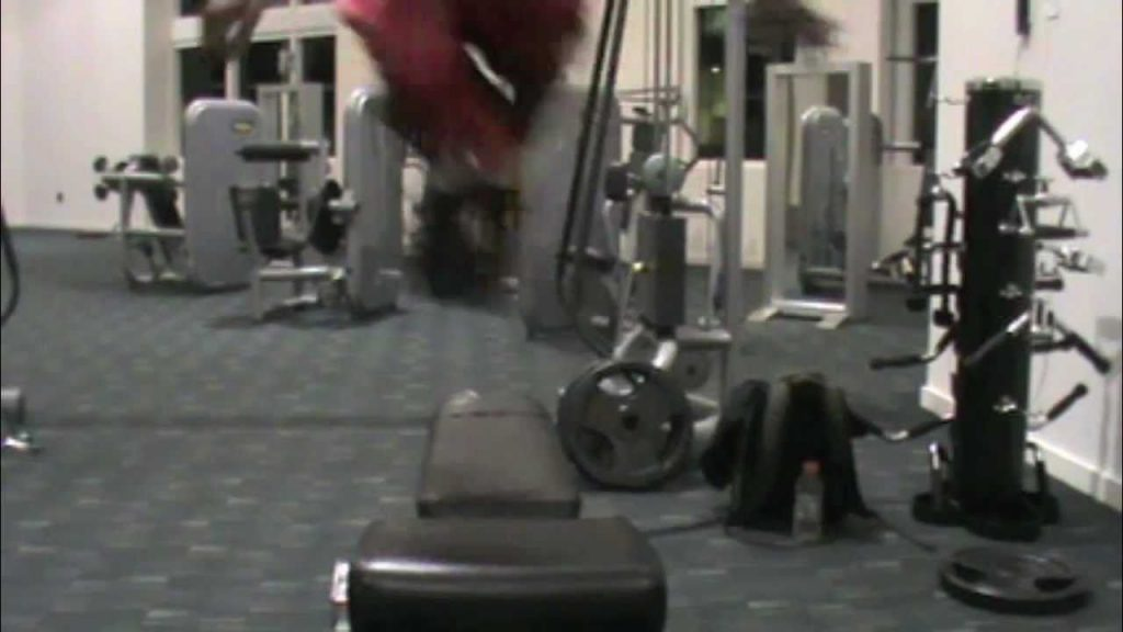 Dre Baldwin: Vertical Jump/ Lateral Quickness & Agility Drill | Side-to-Side Bench Jumps Air Alert 4