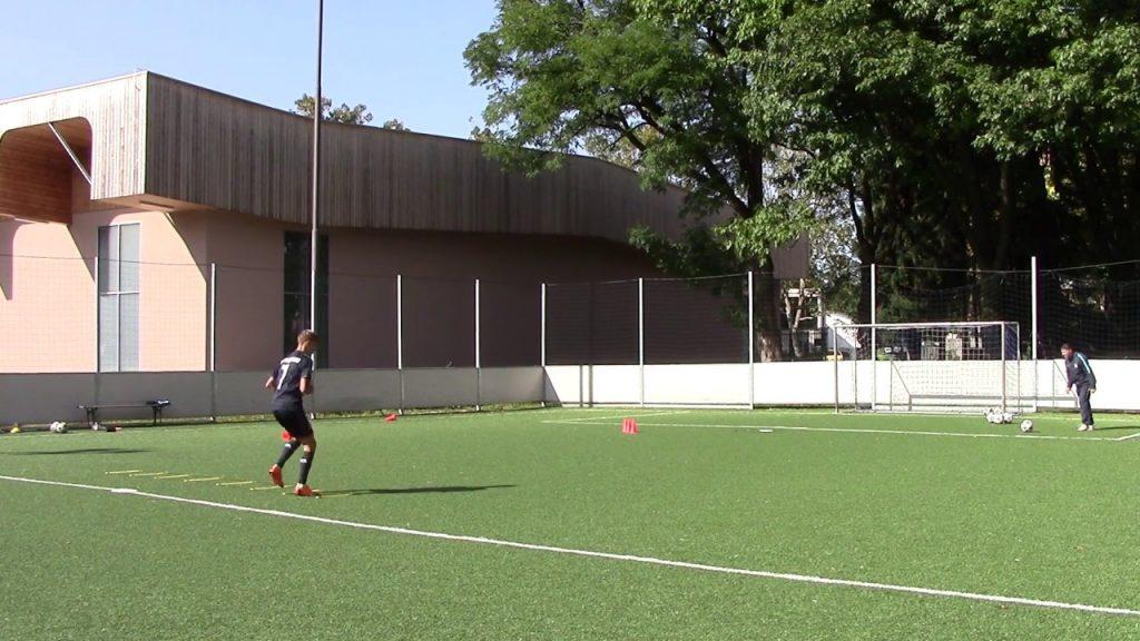 Football training – Agility Ladder/Head/Kick